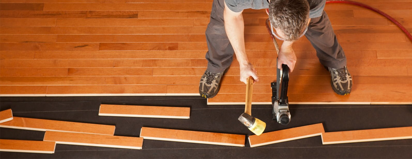 With Home Flooring Design Centre's installation, your floor's installed the right way, the first time around