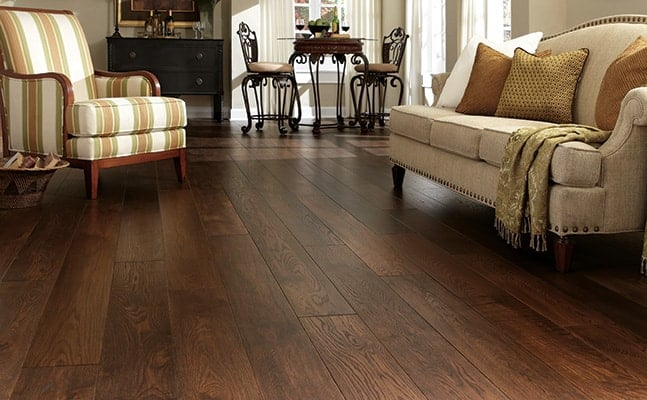 wire-brushed-wood-floors